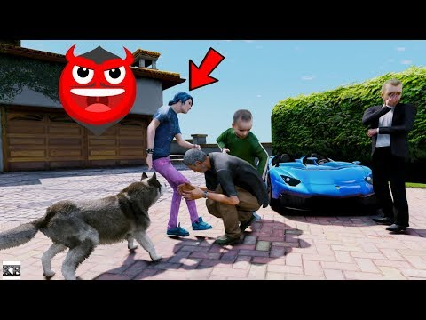 GTA 5 REAL LIFE KIDS MODS #2 EVIL KID ERIC IS BACK 😱
