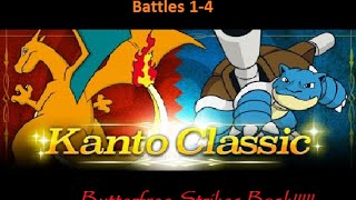 Pokemon ORAS: Kanto Classic Battles 1-4; BUTTERFREE STRIKES BACK!!!