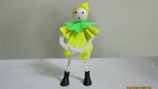 How To Make 3-d Paper Doll 'gnomes'