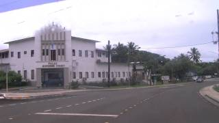 [HD] T88GN T88TB and T88KH were down the Main street in Koror Is., Rep.of Palau