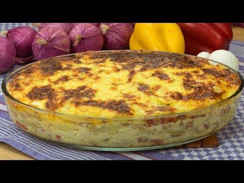 Мужчины остануться в восторге от этой картофельной запеканки с колбасой и грибами! | Appetitno.TV