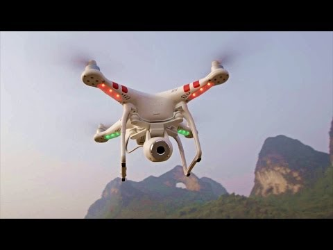 DJI Phantom 2 + S1000 With Amazing Aerial Sample! (CES 2014)