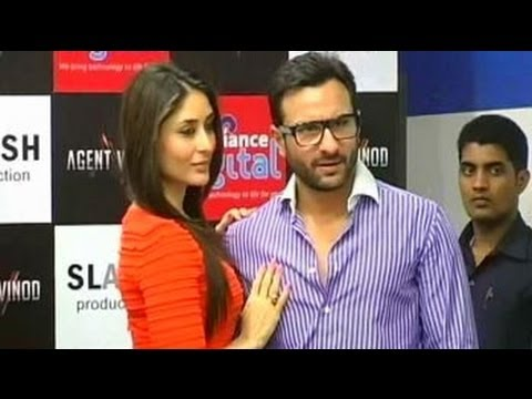 Saif-Kareena's first public appearance to promote Agent Vinod