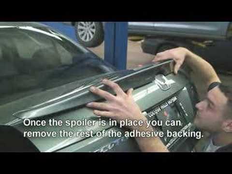 Episode #108 - 2008 Accord Sedan Deck Lid Spoiler