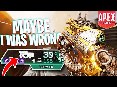 You Guys Were Right About the Prowler... - PS4 Apex Legends Road to Apex Predator