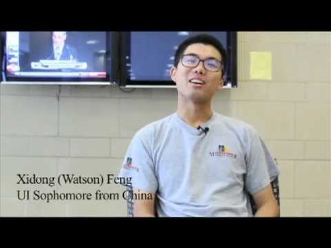 International Students talk about their lives at University of Iowa