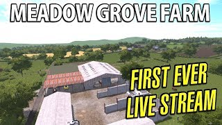 Farming Simulator 17 | Meadow Grove Farm - Episode 1