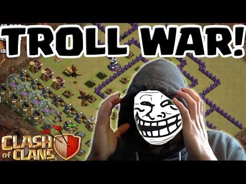 [facecam] TROLL WAR! || TROLL ACCOUNT Part 5 || CLASH OF CLANS || Let's Play CoC [Deutsch/German HD]