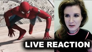 Spider-Man Homecoming Trailer Reaction