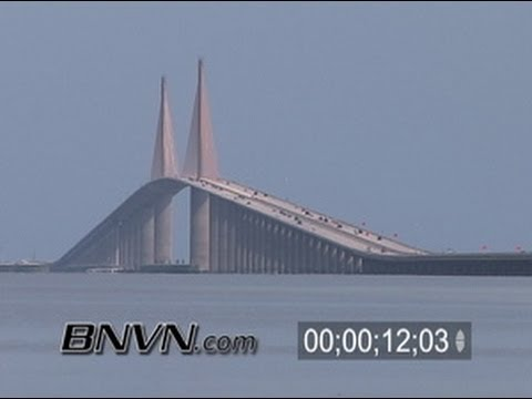 8/21/2005 Skyway Bridge, St. Petersburg Beach Florida Video