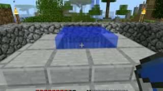 Minecraft - бесконечный источник воды.wmv