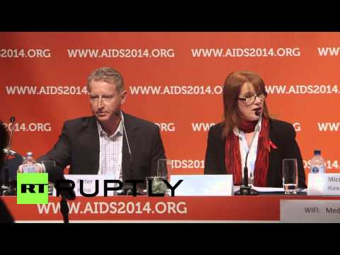 Australia: AIDS conference remembers MH17 crash victims