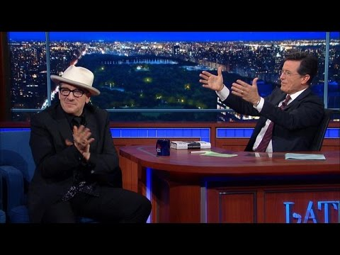 Oh , That's Where Elvis Costello Got His Look