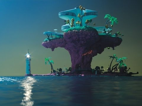 Gorillaz - Plastic Beach (Full Album with Video Accompaniment)