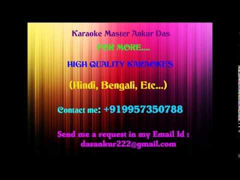 Ye Reshmi Zulfen Karaoke   Do Raaste By Ankur Das 09957350788...