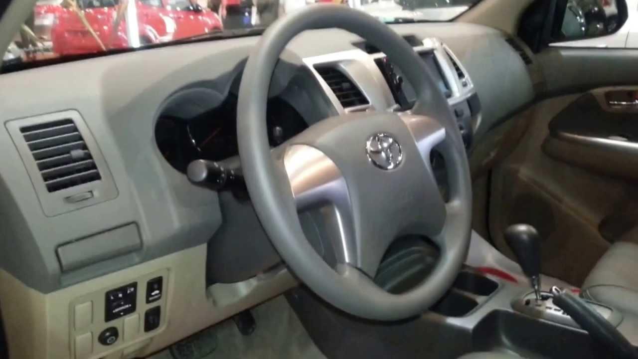 Interior Toyota Fortuner Miyabi 2014 Versi 243 N Para Colombia