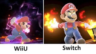 Super Smash Bros Switch vs WiiU Final Smash Comparison