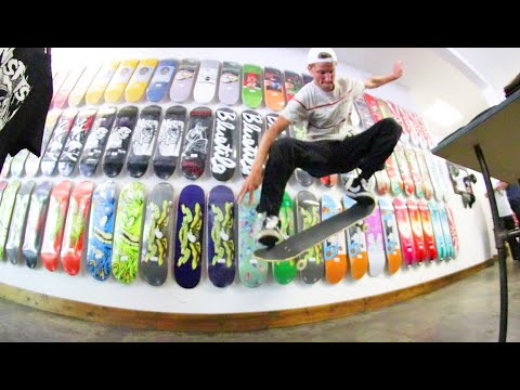 A Day At The Skateboard Shop