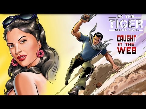 Ek Tha Tiger NEW Comic - Caught In The Web - Teaser - YOMICS