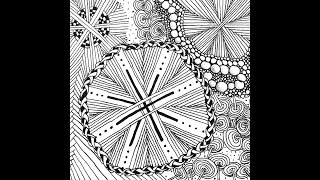 Weekly Zentangle® Tangle Video-HURRY-May 18-24