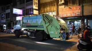 Garbage Truck Music in Tainan, Taiwan