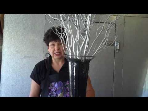 Manzanita Branches - Centerpieces (Do It Yourself Video)