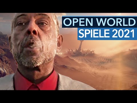 Die 8 interessantesten Open-World-Spiele 2021