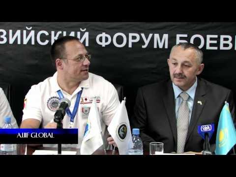 AJJIF KAZAKHSTAN 2012 / PRESS CONFERENCE