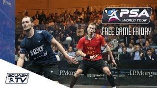 Squash: World Series Finals 2017/18 - Men's Rd 1 Roundup