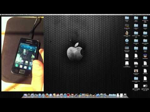 como pasar archivos via usb de un galaxy (android) (ace. s. s 2.mini....) a un mac