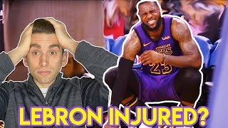 Doctor Explains LeBron James INJURY and Groin Strains