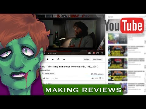 Tips for Making Horror Movie Reviews on YouTube!   THE GHOULOG