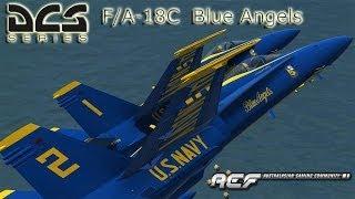 DCS World - F/A-18C  Blue Angels Skin