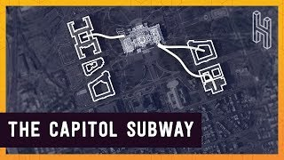 The Somewhat Secret Subway System Under the US Capitol