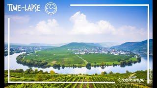 Time-lapse la Moselle en croisère | Time-Lapse