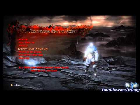 God of War 3 : Kratos All Alternate Costumes & Armor