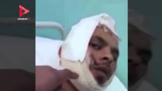 فيديو| الاعتداء على مواطن مصري في الأردن بـ