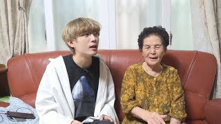 My Grandma Singing Kpop Song ( BTS , BLACKPINK...And more )