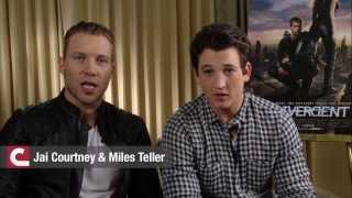 Divergent Interview Jai Courtney Miles Teller