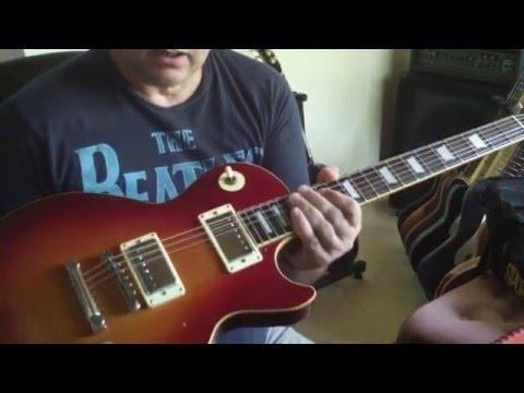 Yamaha SL500 Studio Lord Electric guitar demo