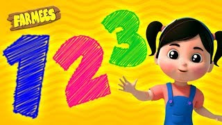 Numbers Song | Learn to Count, ABC Colors & More Nursery Rhymes for Kids
