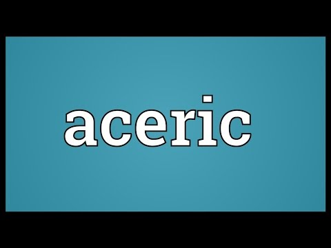 Header of Aceric