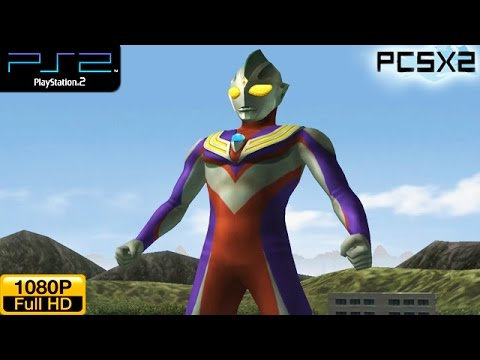 Ultraman Fighting Evolution 3 - Ps2 Gameplay 1080p (pcsx2) video