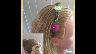 Diadema de Flores - Flower Head Band
