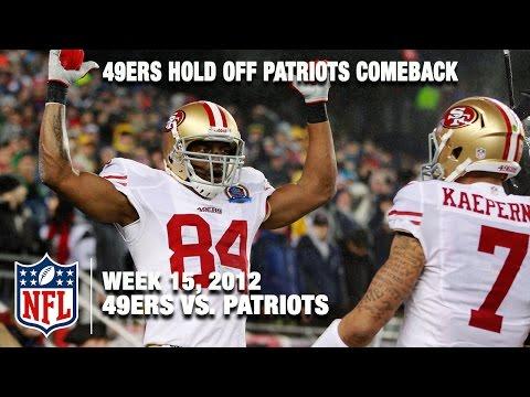 49ers Vs Patriots Wk 15 2012 Kaepernick Harbaugh Outlast Brady