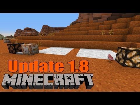 Eiserne Falltüren MASSIG neue Befehle Minecraft 1.8 Update Snapshot 14w07a