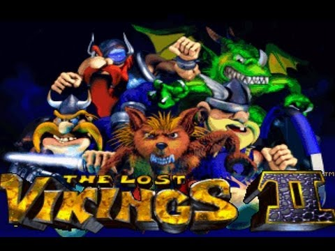 CGRundertow THE LOST VIKINGS 2 for SNES Video Game Review