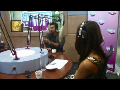 Barfi! | Ranbir Kapoor and Priyanka Chopra at City 101.6 radio in Dubai