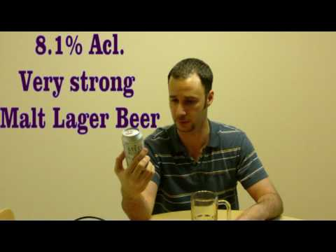 Steel Reserve 211 8.1 Beer Review Video