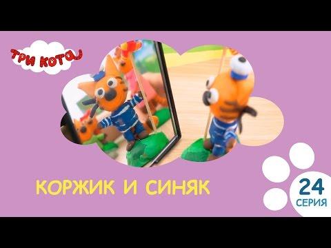 Три кота. Коржик и Синяк | Выпуск №24